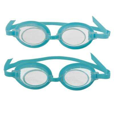 3D Action Kids Swim Goggles (2-Pack)