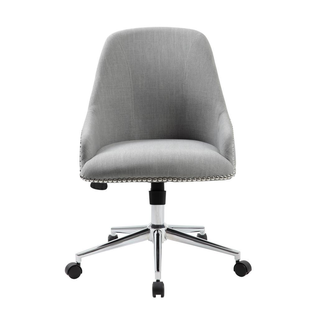 Grey Carnegie Desk Chair