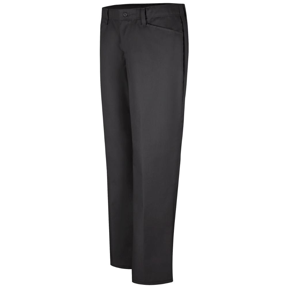 Women's Size 20 in. x 32 in. Black Pant