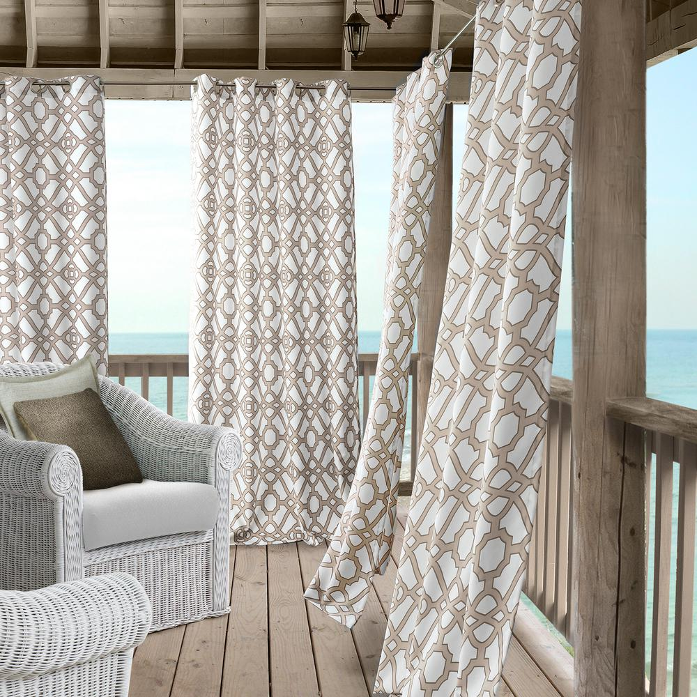 Elrene Marin Indoor/Outdoor Window Curtain