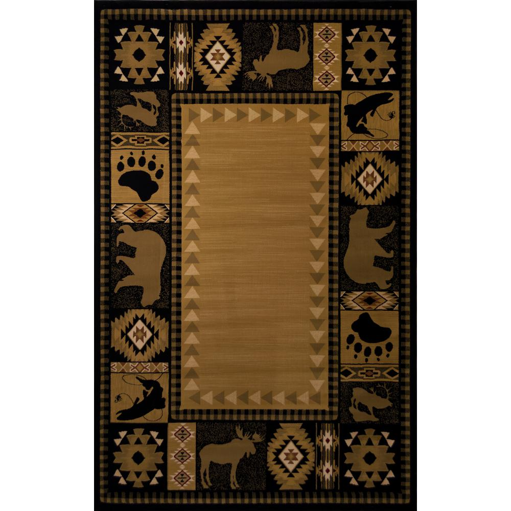 Balta US Northern Territory Black 2 ft. 7 in. x 7 ft. 10 in. Runner