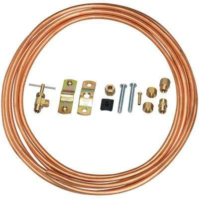 1/4 in. x 15 ft. Copper Icemaker Installation Kit