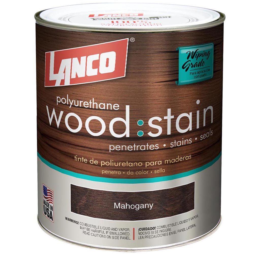 1 qt. Mahogany Interior Wood Stain