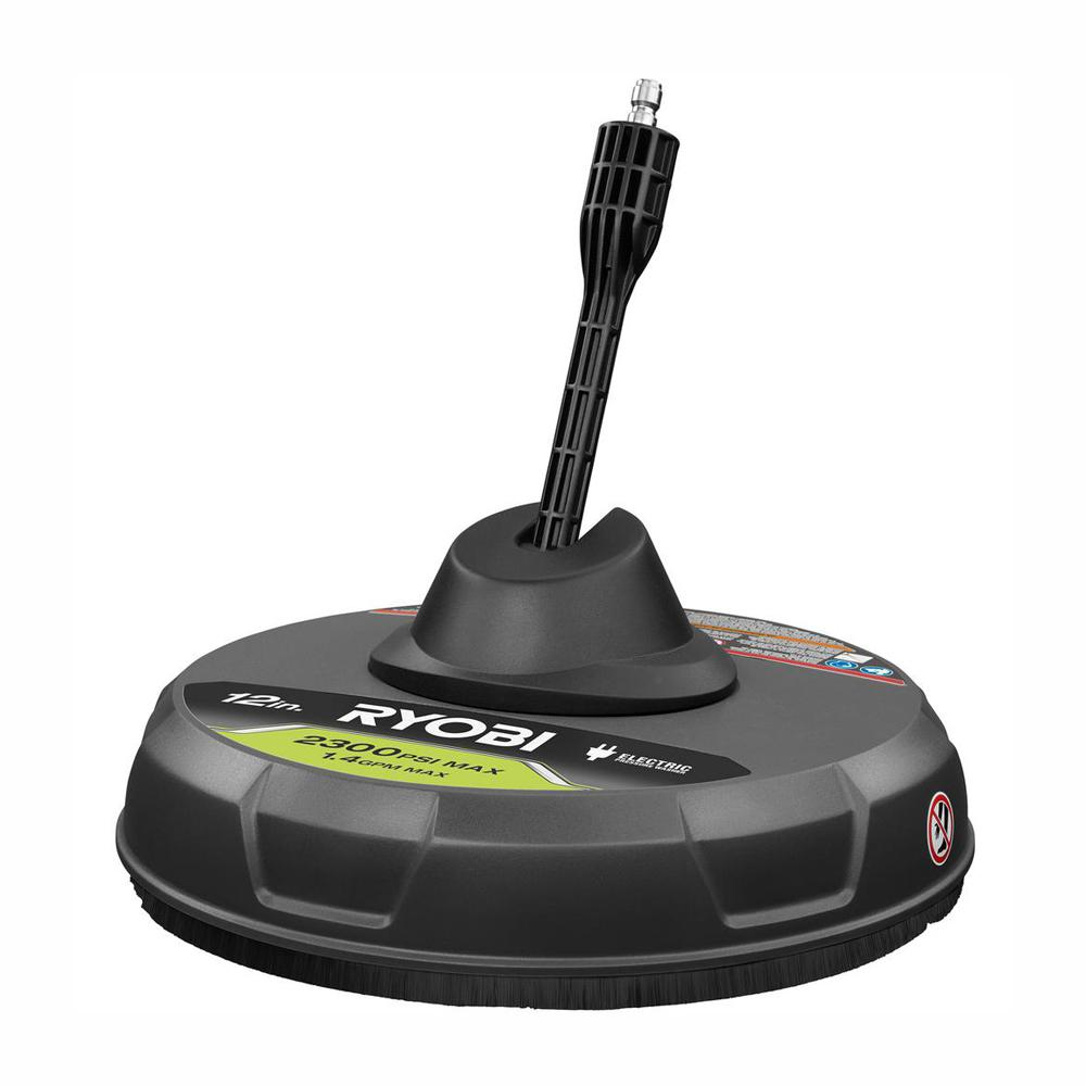RYOBI 12 in  2,300 PSI Electric Pressure Washers Surface Cleaner