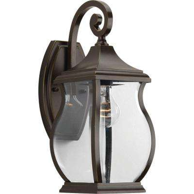 Township Collection 1-Light Oil Rubbed Bronze Outdoor Wall Lantern