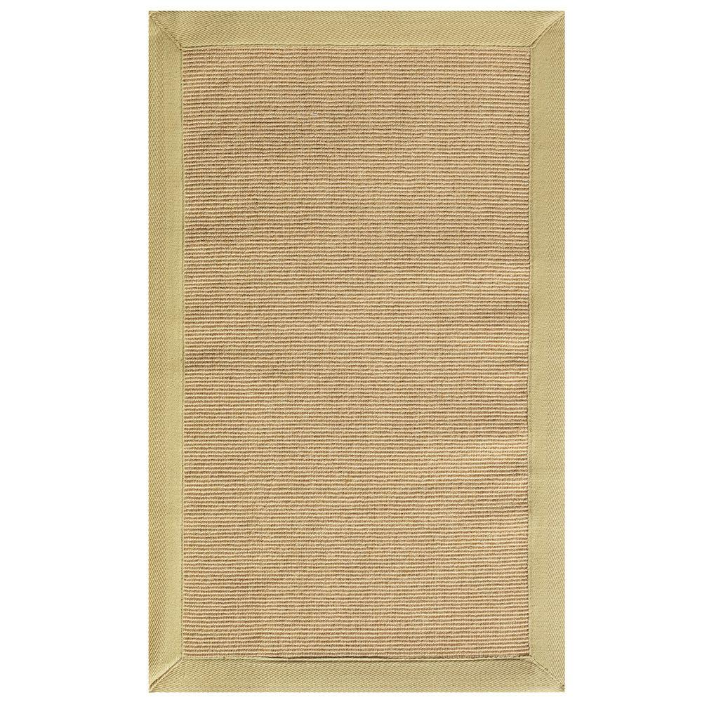Home Decorators Collection Washed Jute Beige 7 ft. x 9 ft. Area Rug