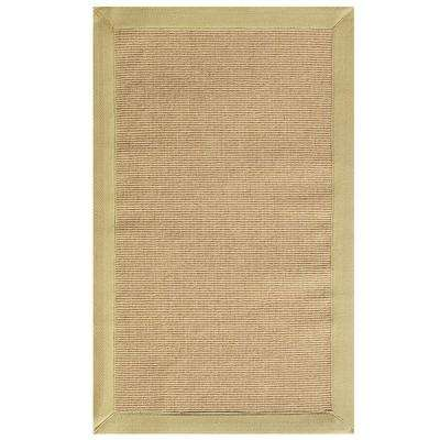Washed Jute Beige 7 ft. x 9 ft. Area Rug