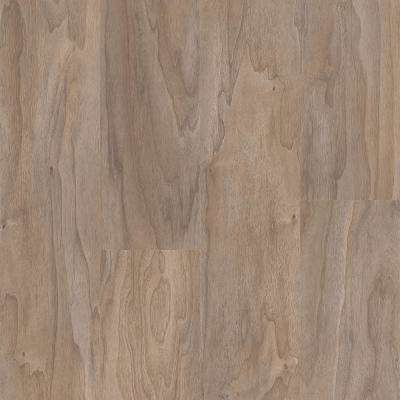 Walnut Warm Grey 6 in. Wide x 48 in. Length Click Floating luxury vinyl plank flooring (19.39 sq. ft./case)