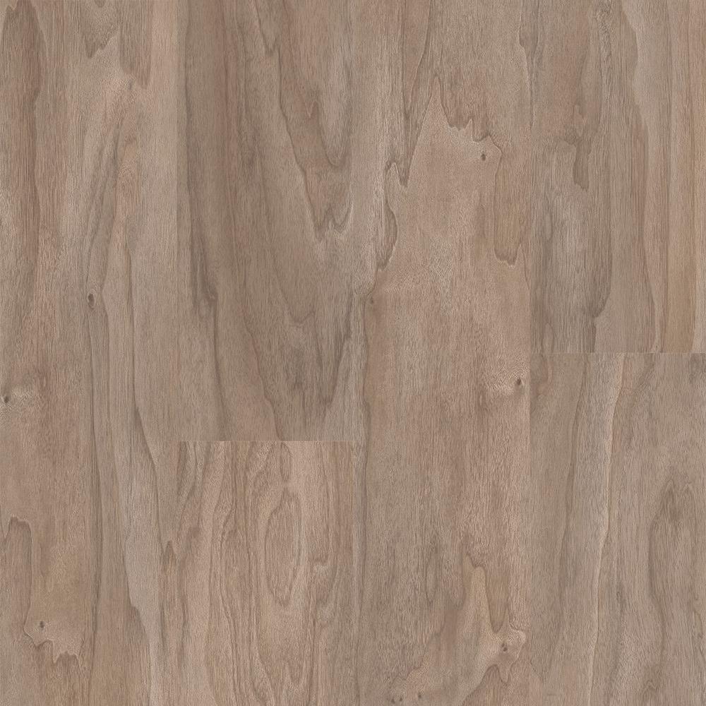 Walnut Warm Grey 6 in. Wide x 48 in. Length Click Floating luxury vinyl plank flooring (19.39 sq. ft./case)