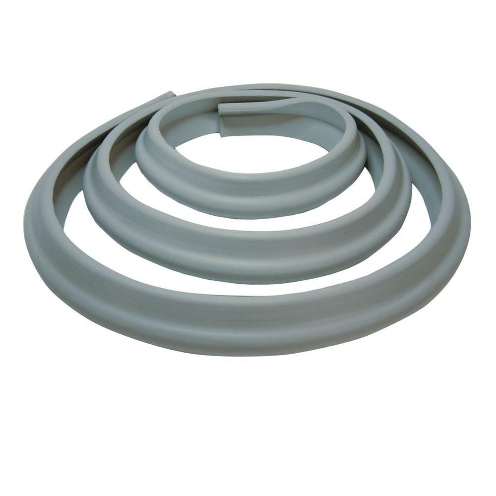 78.5 in. Foam Edge Bumper Roll, Grey