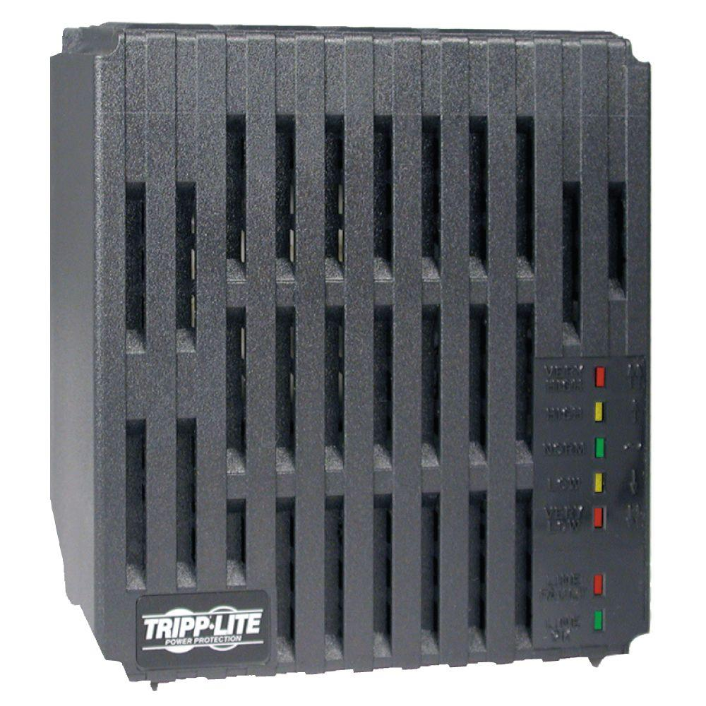 Line Conditioner 1800 Watt AVR Surge 120-Volt 15-Amp 60Hz 6-Outlet 6-ft.