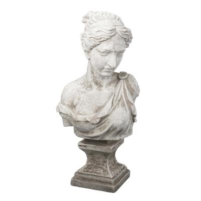 Bust of Women Antique White