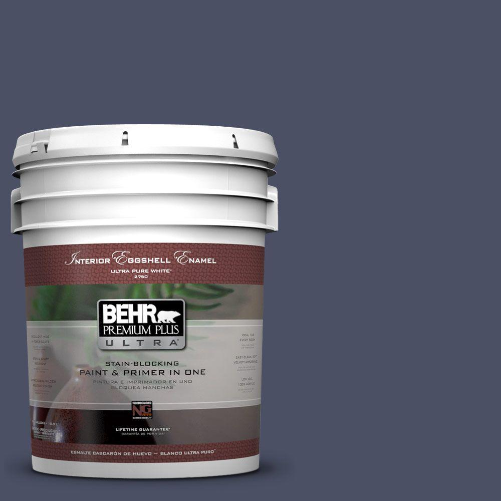 BEHR Premium Plus Ultra 5-gal. #610F-7 Mystical Shade Eggshell Enamel Interior Paint