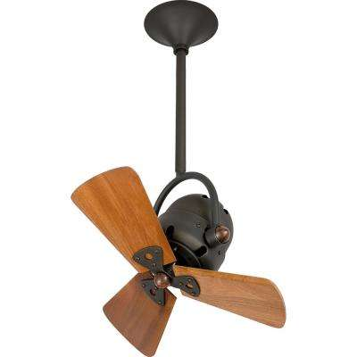 Bianca Direcional 16 in. Indoor Bronze Ceiling Fan with Wall Control