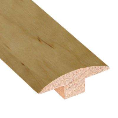 Smoked Maple Natural 3/4 in. Thick x 2 in. Wide x 78 in. Length Hardwood T-Molding