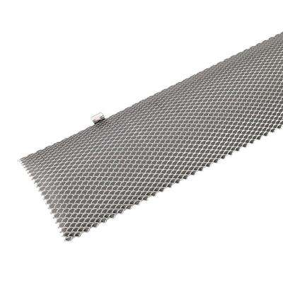 6 in. x 36 in. Hinged Gutter Guard Unpainted