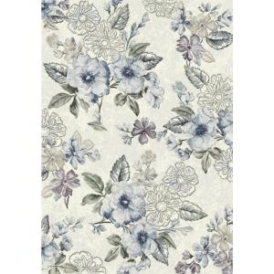 Dynamic Rugs Eclipse Cream/Blue 2 ft. x 3 ft. 11 inch Indoor Accent Rug by Dynamic Rugs
