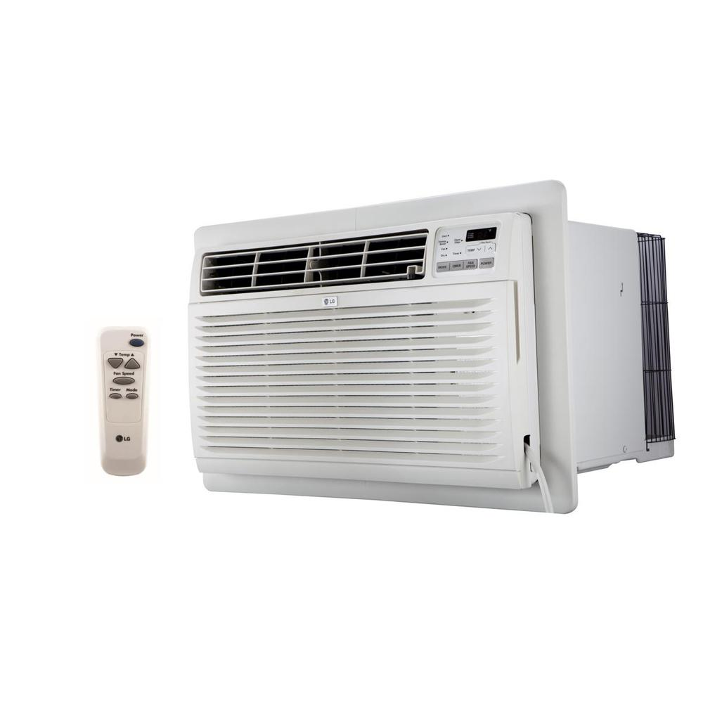 LG 9800 BTU 230-Volt Through-the-Wall Air Conditioner with Heat and Remote