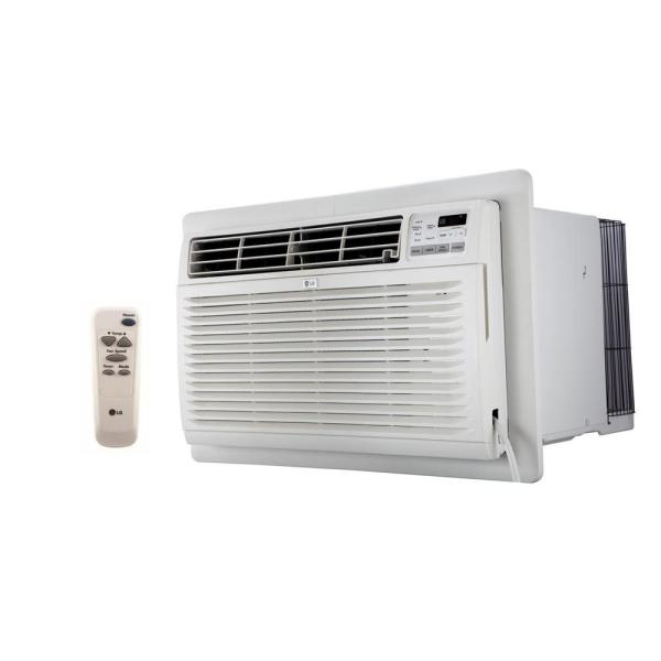 Lg Electronics 10 000 Btu 230 Volt Through The Wall Air Conditioner With Heat And Remote Control Lt1037hnr The Home Depot