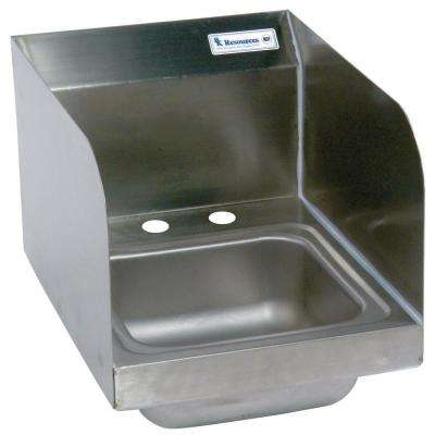 12 in. x 16 in. x 13 in. Stainless Steel Space Saver Wall Mount Hand Sink