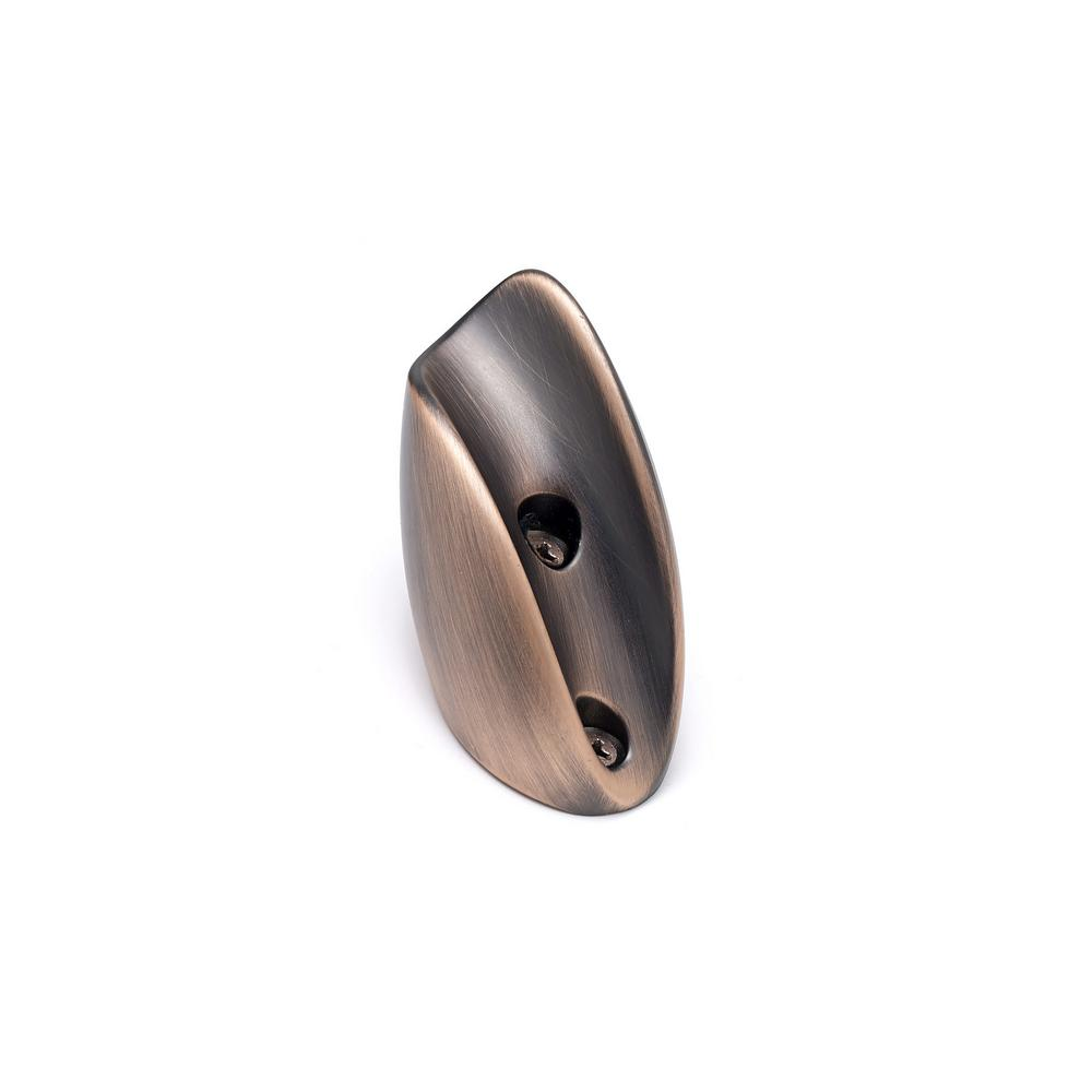 2-11/16 in. (68.5 mm) Brushed Oil-Rubbed Bronze Decorative Hook