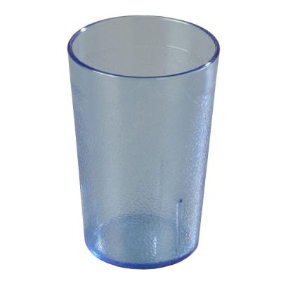 8 oz. SAN Plastic Stackable Tumbler in Blue (Case of 72)