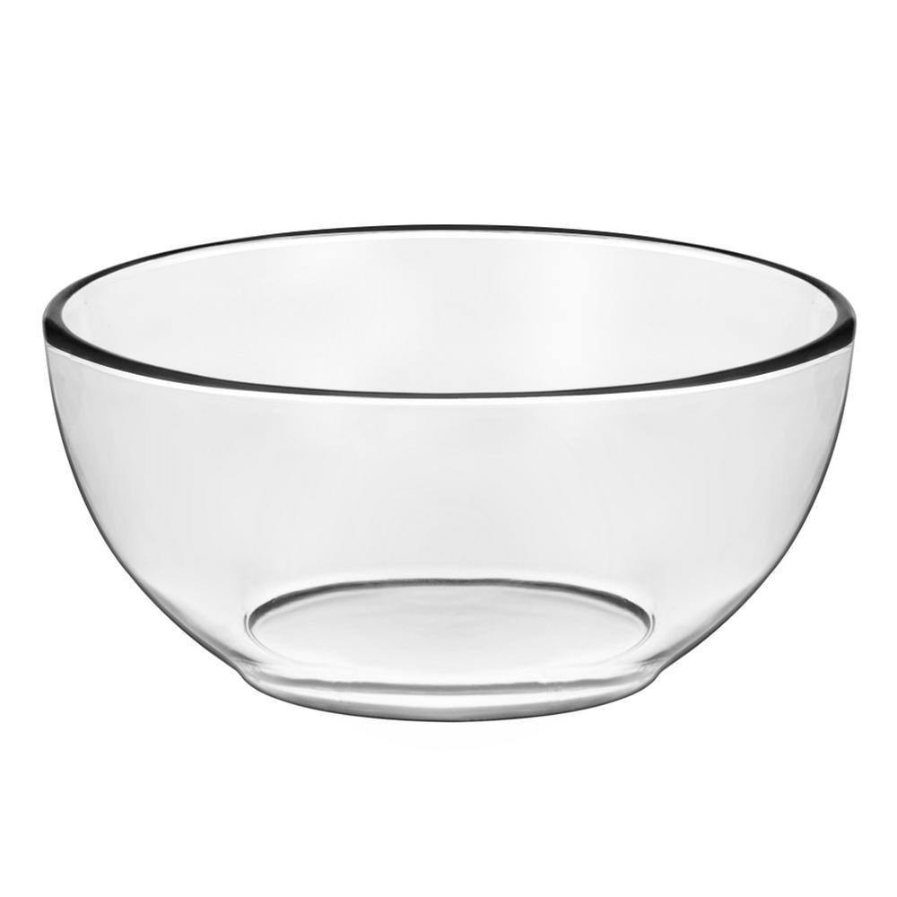 Libbey Moderno 6 In. 4-Piece Glass Cereal Bowl Set With
