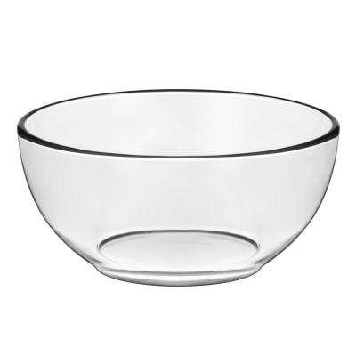 Moderno 6 in. 4-Piece Glass Cereal Bowl Set With Lids