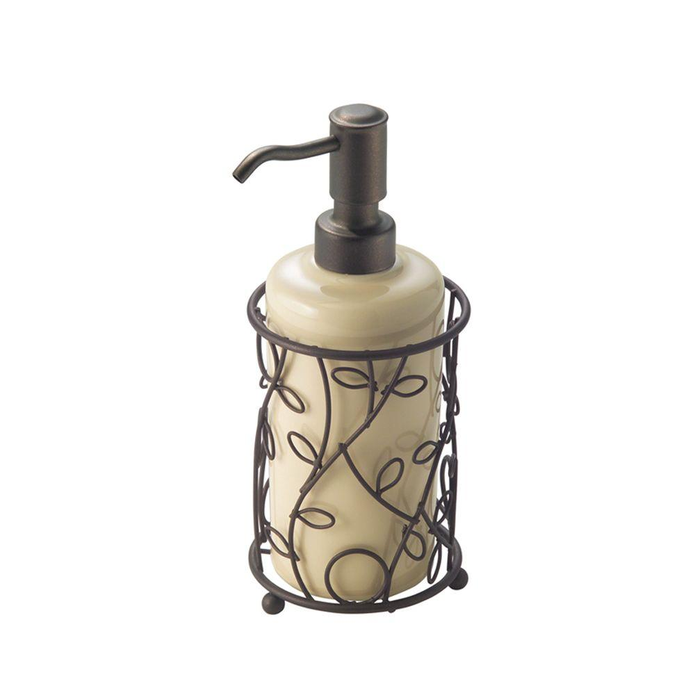 Interdesign Twigz Soap Pump In Bronze And Vanilla 76791