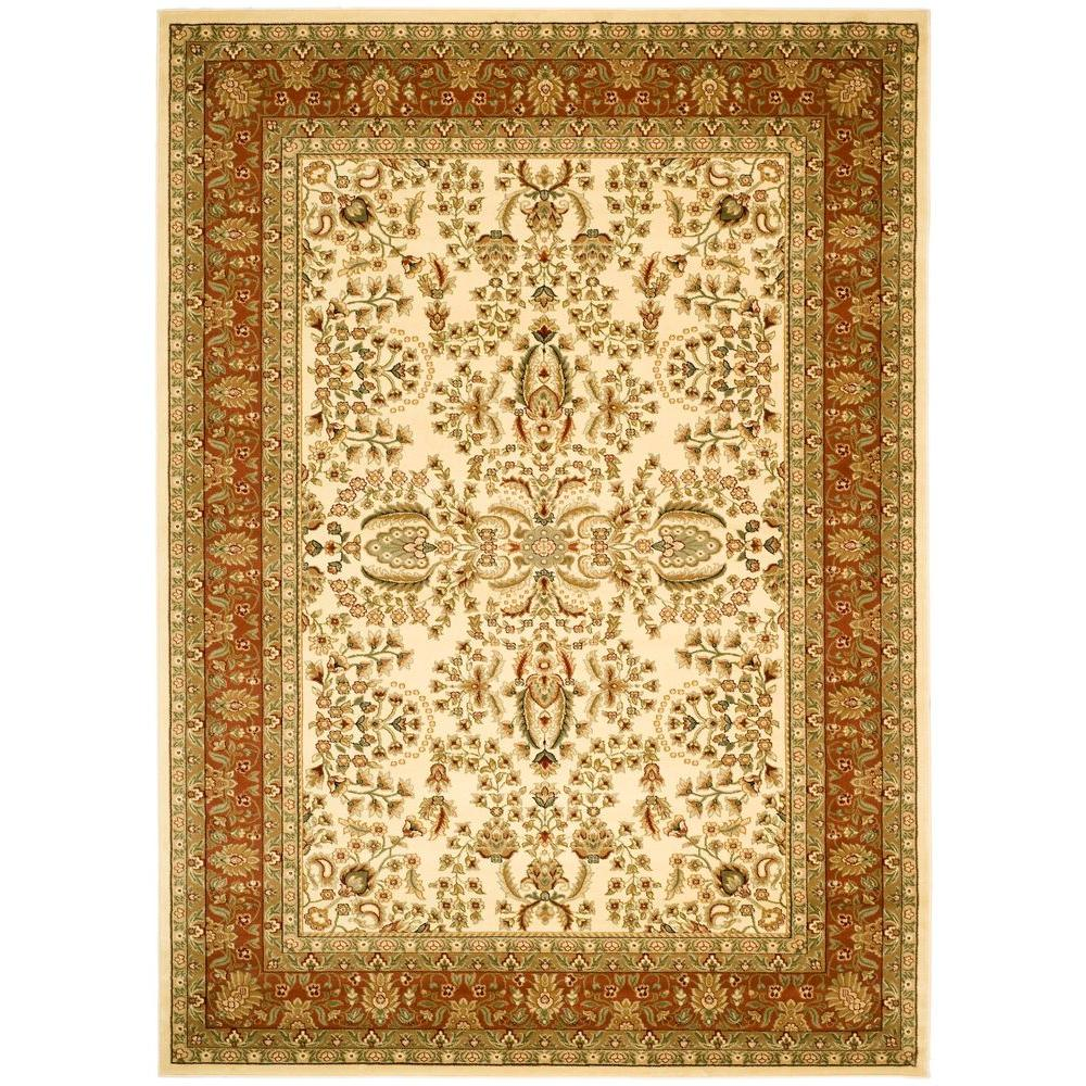 This Review Is From Lyndhurst Ivory Rust 8 Ft X 11 Area Rug
