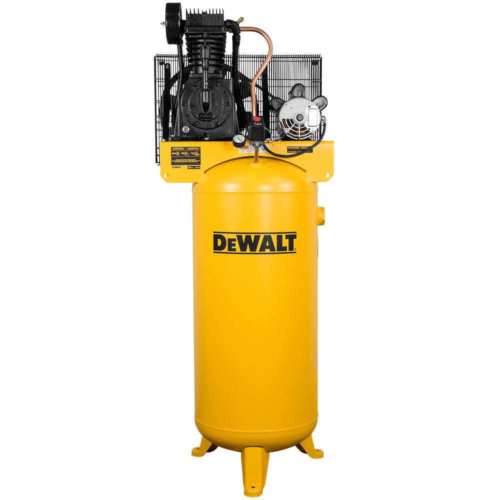 Dewalt 60 Gal. 175 PSI Two Stage Stationary Electric Air Compressor by DEWALT