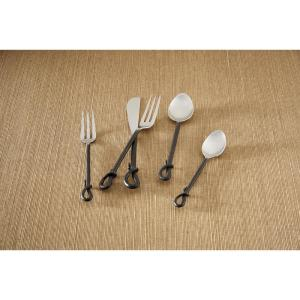 Forged Loop 5-Piece Place Setting Flatware Set