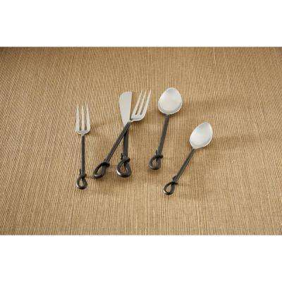 Forged Loop 5-Piece Place Setting Flatware Set (Service for 1)