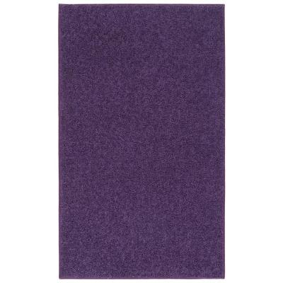 OurSpace Bright Purple 5 ft. x 7 ft. Indoor Area Rug