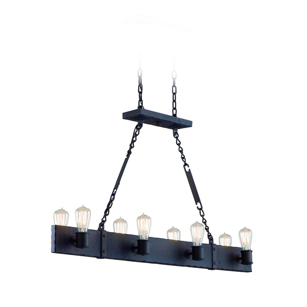 Troy Lighting Jackson 8-Light Copper Bronze Pendant