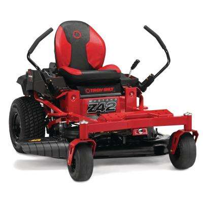 Mustang 42 in. 679 cc V-Twin OHV Engine Gas Zero Turn Riding Mower with Dual Hydrostatic Transmision and Lap Bar Control