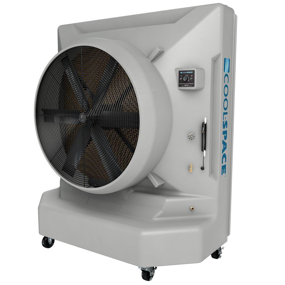 Blizzard50 26485 CFM 12-Speed Portable Evaporative Cooler for 6500 sq. ft.