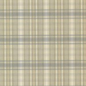 Chesapeake Delaney Sky Sunny Plaid Wallpaper Sample by Chesapeake