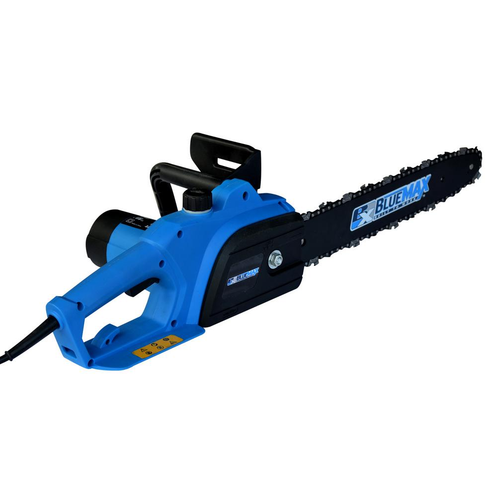 Blue max 14 in 8 amp electric chainsaw 7953 the home depot 8 amp electric chainsaw 7953 the home depot keyboard keysfo
