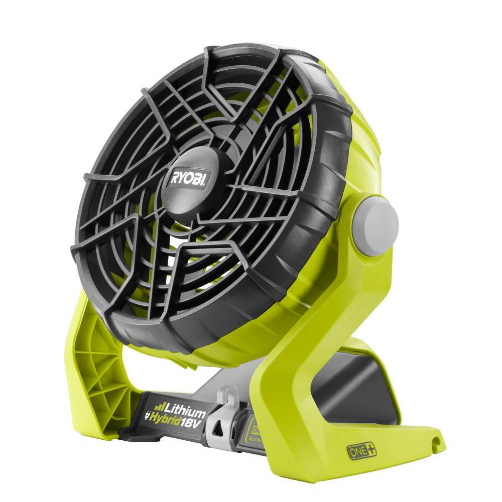 Ryobi 18 Volt One Hybrid Portable Fan Tool Only P3320 The Home Depot