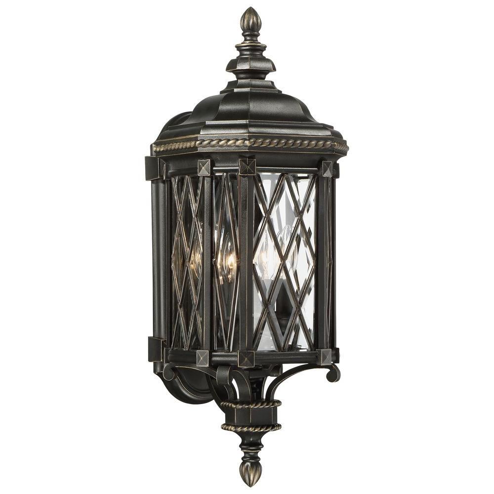 The great outdoors by minka lavery bexley manor 4 light black with the great outdoors by minka lavery bexley manor 4 light black with gold highlights wall workwithnaturefo