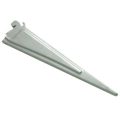 Maximum Load 16 in. x .5 in. Silver Shelf Bracket
