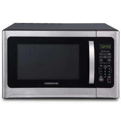 1.2 cu. ft. Over the Counter Microwave in Stainless Steel with Sensor Cooking
