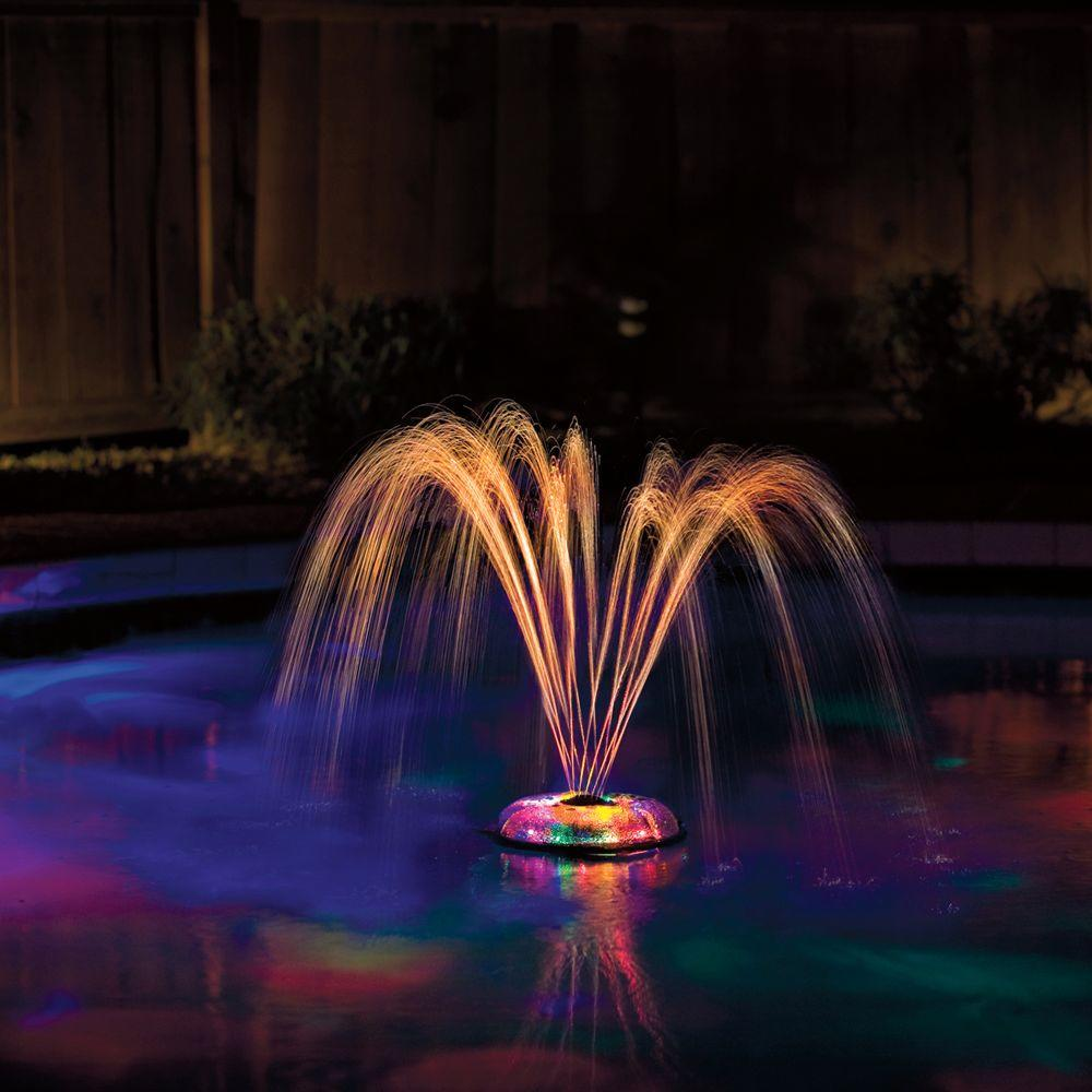 Home Decorators Collection Multi Underwater Light Show and Fountain