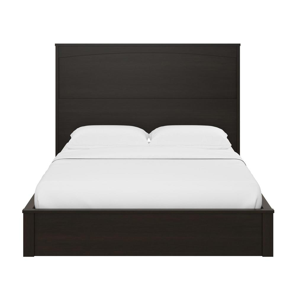 Crescent Point Espresso Full Sized Bed and Headboard