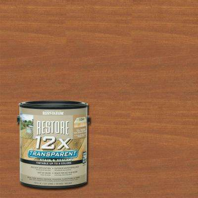 1 Gallon 12X Transparent Hickory Stain and Sealant