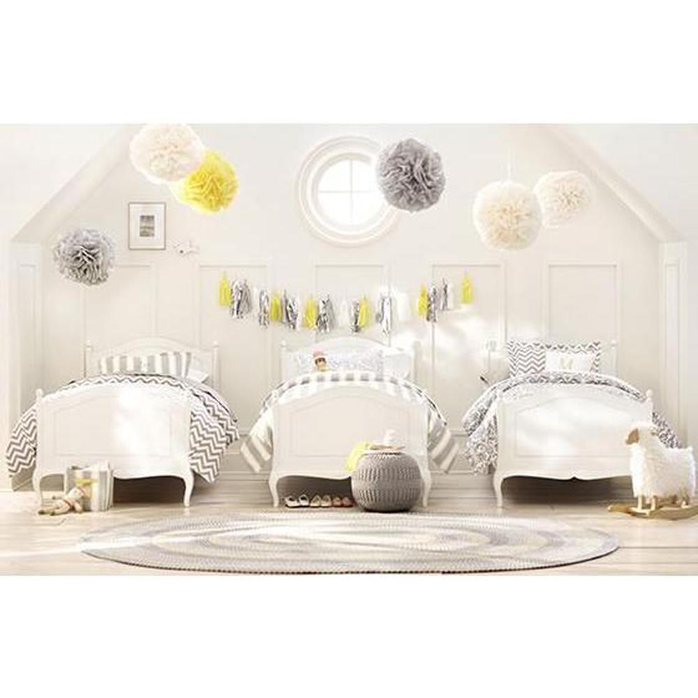 Verdiana Kids Grigio Carmine Twin Size Bed