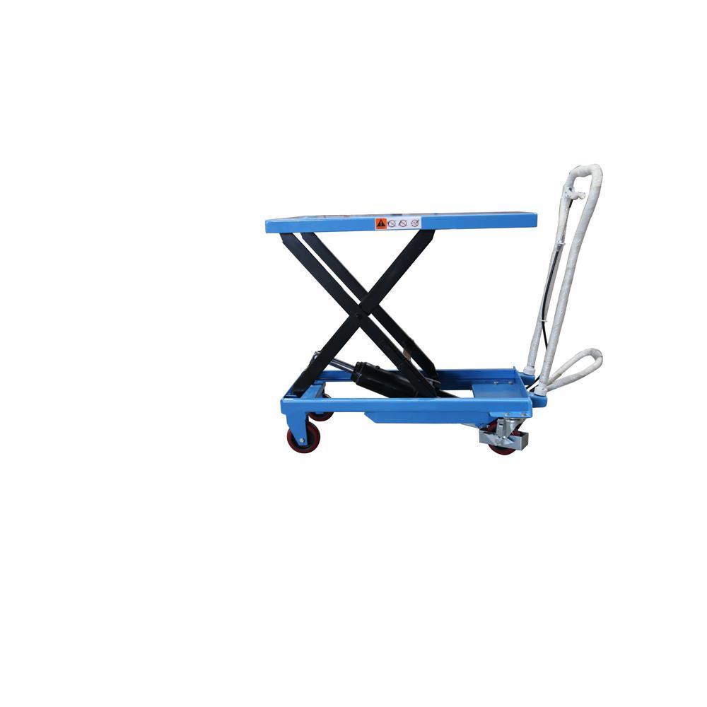 Eoslift 330 Lbs 17 7 In X 27 6 In Scissor Lift Table