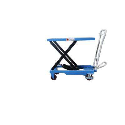 330 lbs. 17.7 in. x 27.6 in. Scissor Lift Table Cart