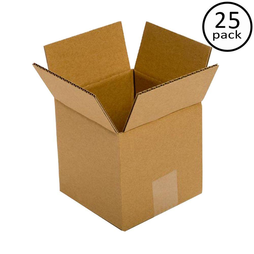 6 in. x 6 in. x 6 in. 25 Box Bundle